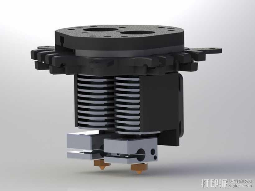 Rostock Max打印机 底座支架 3D打印模型渲染图