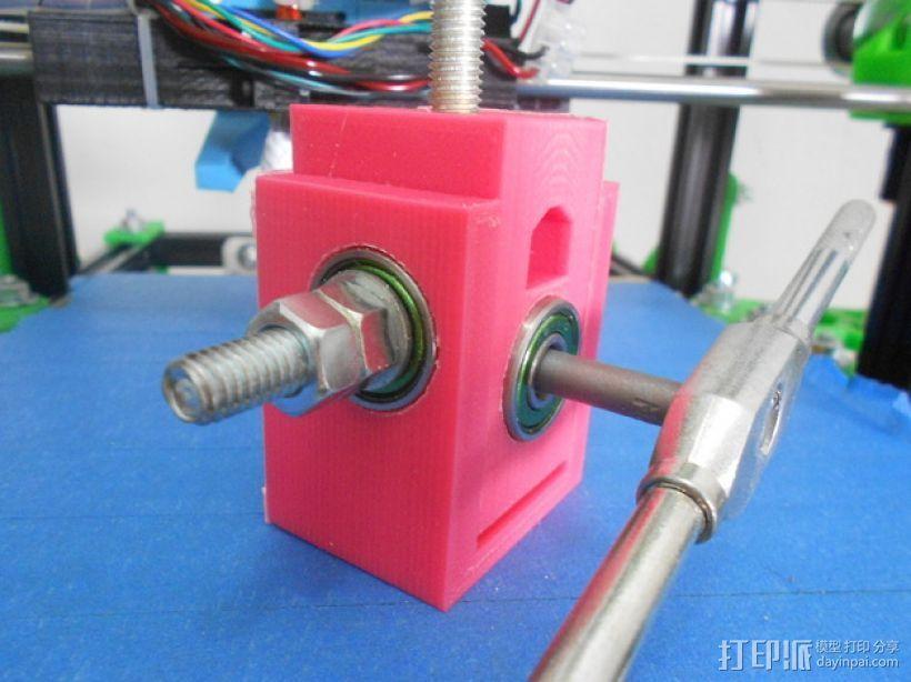 螺栓孔槽 3D打印模型渲染图