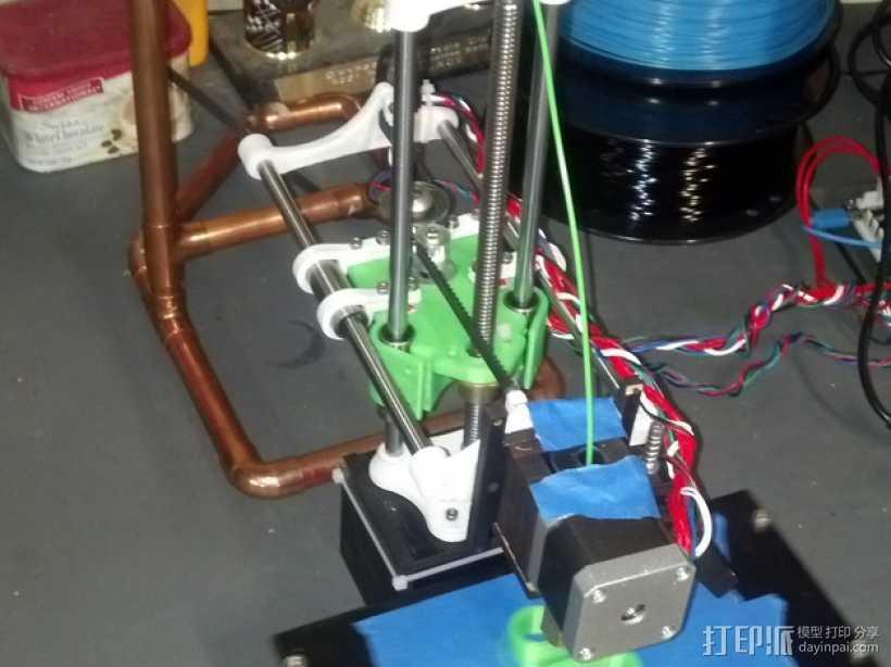 SparkinBot打印机门形架 3D打印模型渲染图