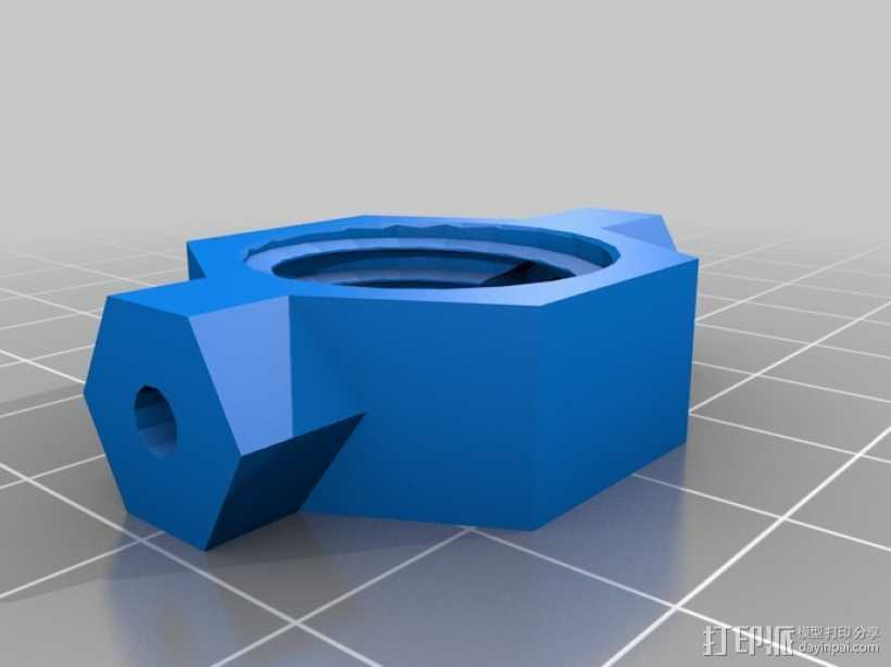 Dremel电磨支架 3D打印模型渲染图