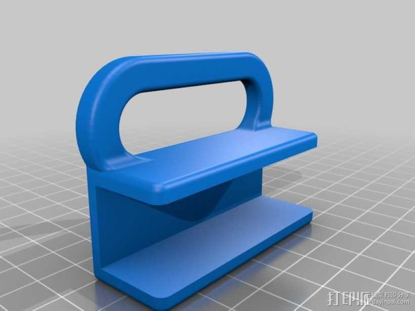 侧铣刀工具架 3D打印模型渲染图