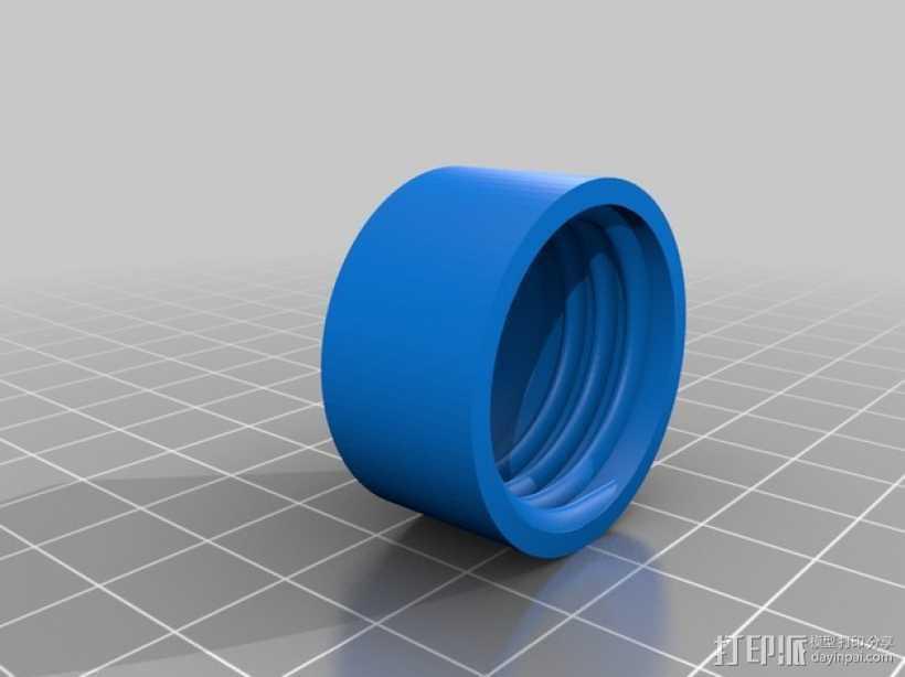 打印材料清洁器 3D打印模型渲染图