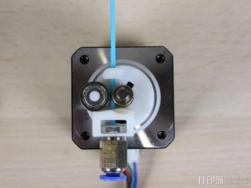 Mini-Owl挤出机出线器 3D打印模型渲染图