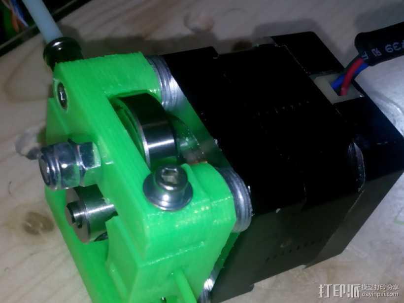 Bowden MK7 挤出机 3D打印模型渲染图
