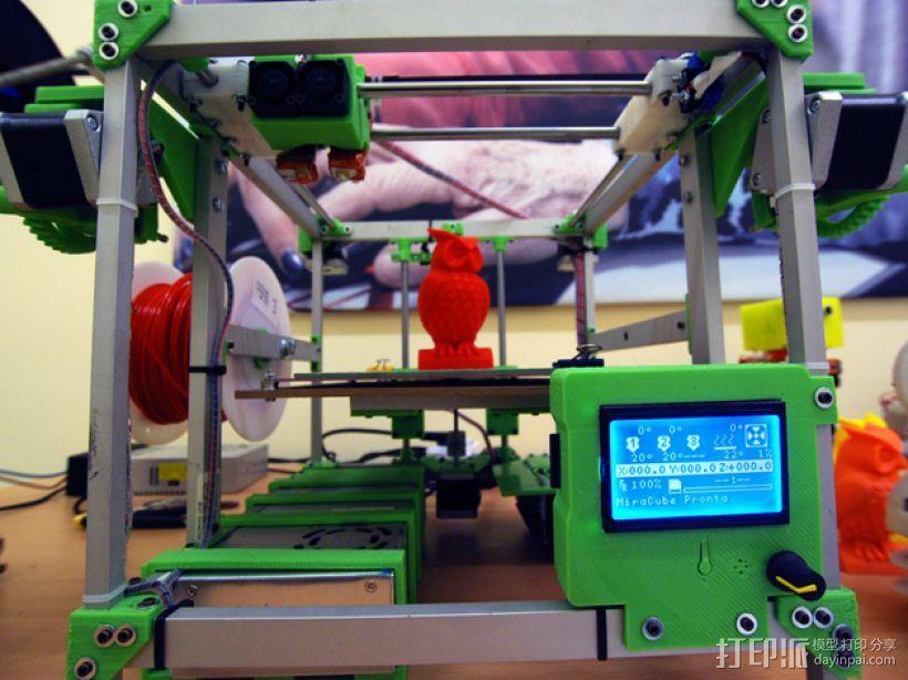 MiraCube 3D打印机 3D打印模型渲染图