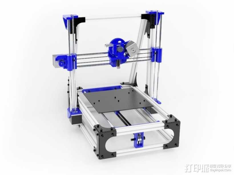 Idea Lab Max i3打印机 3D打印模型渲染图