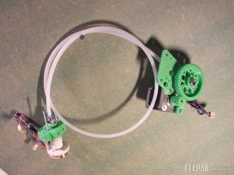 Rich's Bowden 齿轮挤出机 3D打印模型渲染图