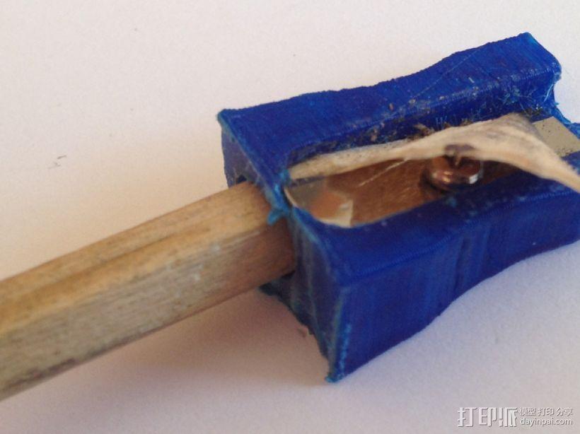 卷笔刀 3D打印模型渲染图