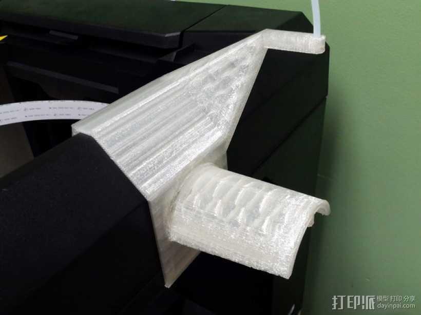 MakerBot打印机的线轴架 3D打印模型渲染图