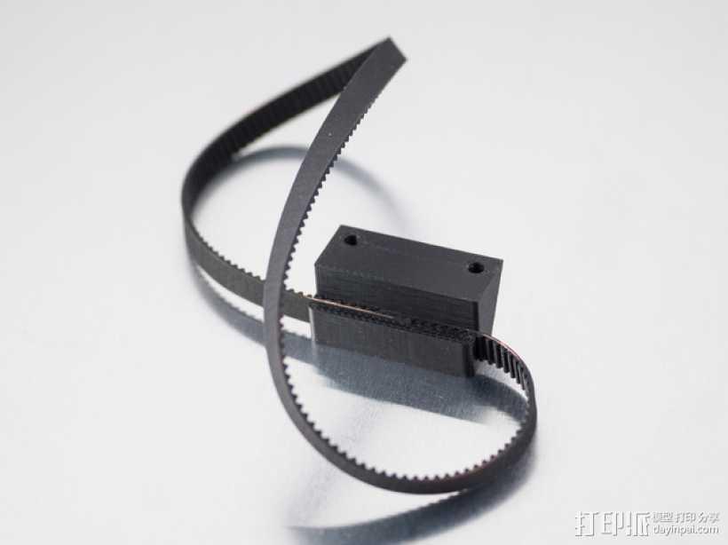 皮带连接器 3D打印模型渲染图