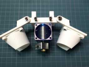 Bowden E3D V6打印机风扇 风扇座