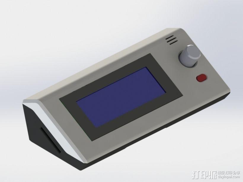 RepRapDiscount 智能控制器保护外壳 3D打印模型渲染图