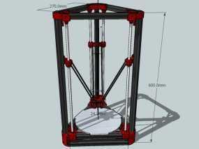 Delta'Q 3D打印机
