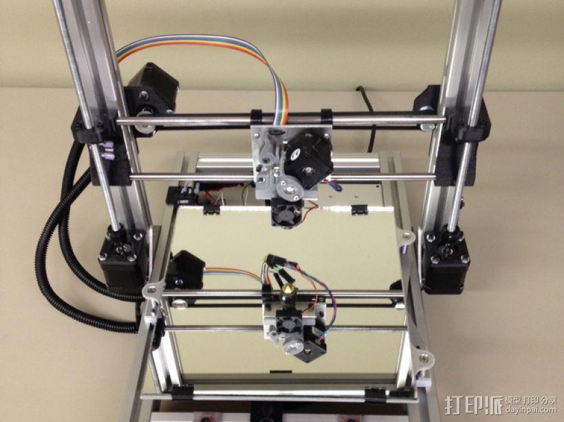 Mendel3D打印机 3D打印模型渲染图