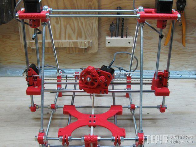 ecksbot打印机  3D打印模型渲染图