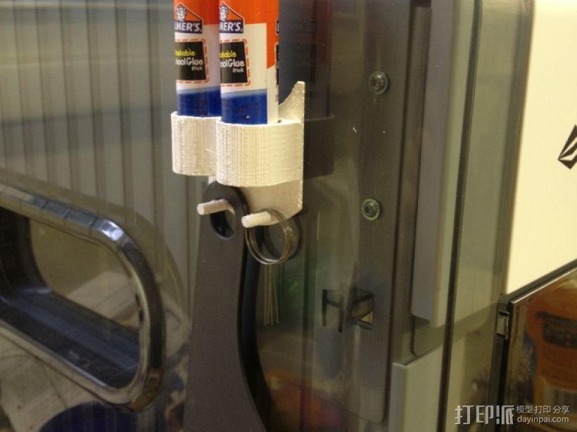 固体胶架 3D打印模型渲染图