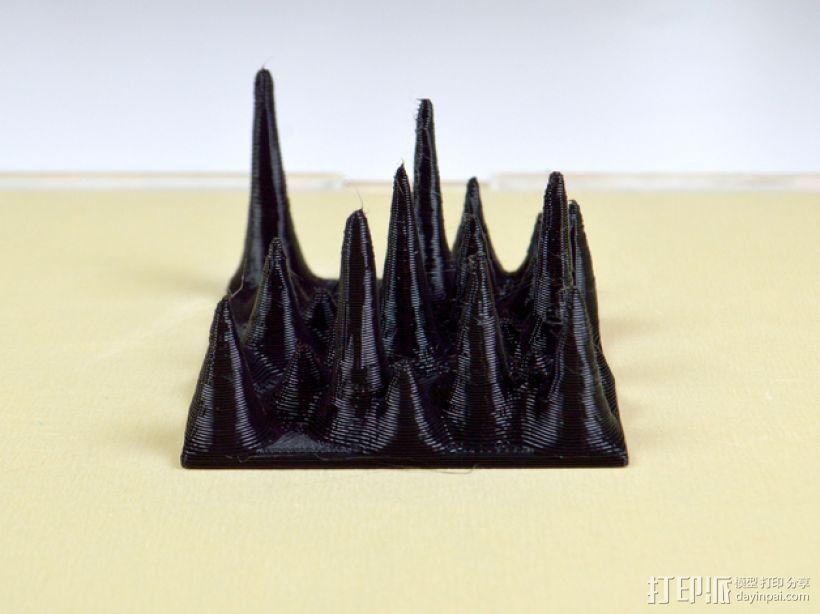 石笋模型 3D打印模型渲染图