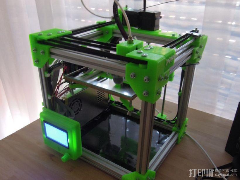 Core XY Printer打印机 3D打印模型渲染图
