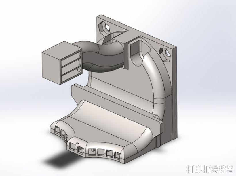散热管 通风管道 3D打印模型渲染图