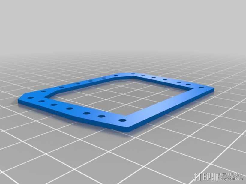 仿生手 义肢 3D打印模型渲染图