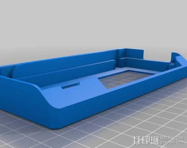 Prusa i3打印机控制器显示屏支架 3D打印模型渲染图