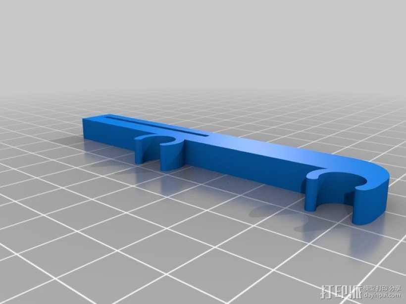 打印机X轴限位开关夹 3D打印模型渲染图