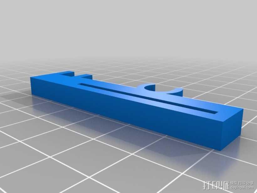 打印机Z轴限位开关夹 3D打印模型渲染图