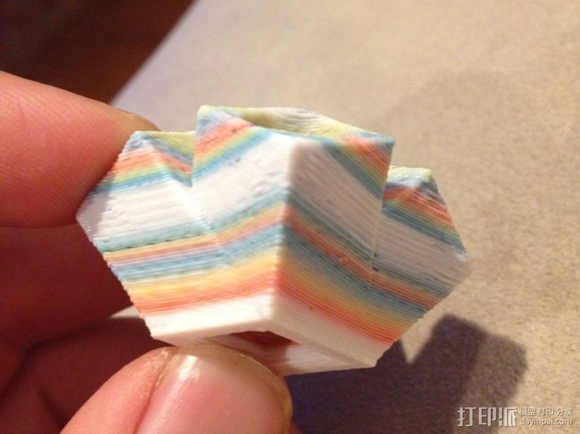 材料上色器 3D打印模型渲染图