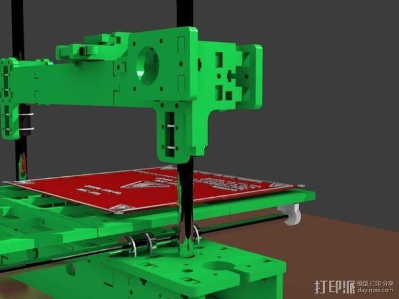 3D打印 集成电路板 3D打印模型渲染图