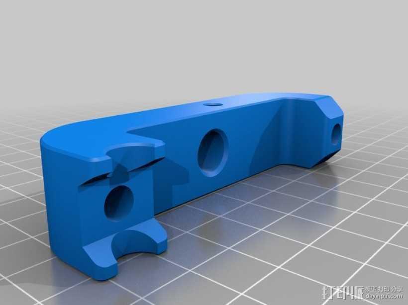 打印机仪表盘支架 3D打印模型渲染图