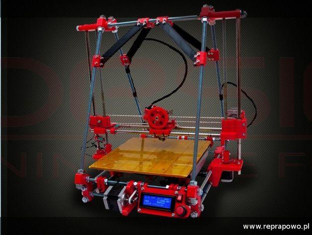 BiB ONE 3D打印机 3D打印模型渲染图