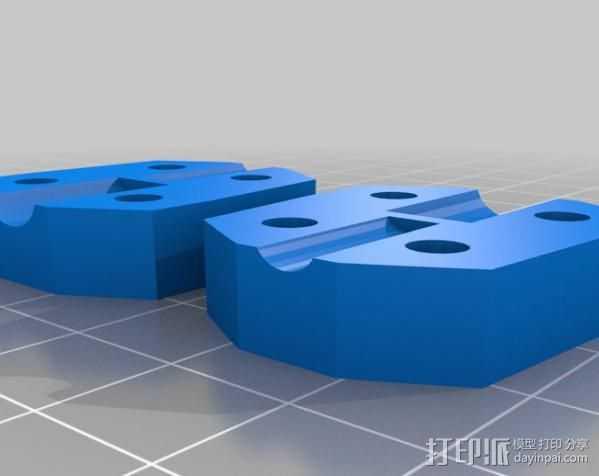 参数化 联轴器 3D打印模型渲染图