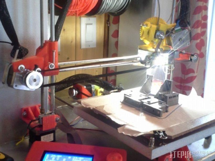 Mendel 3D打印机 3D打印模型渲染图