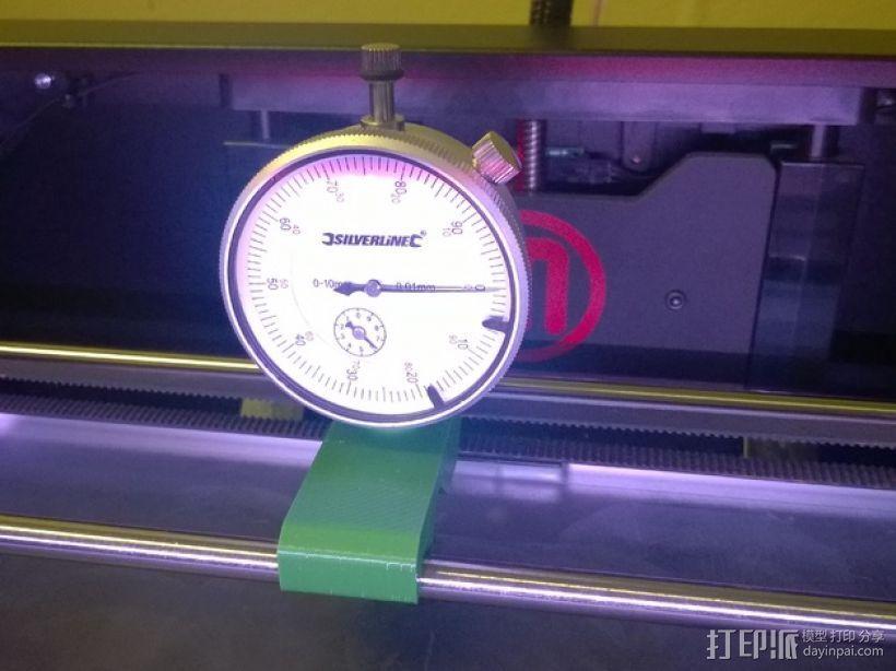 Replicator 2校平器 3D打印模型渲染图