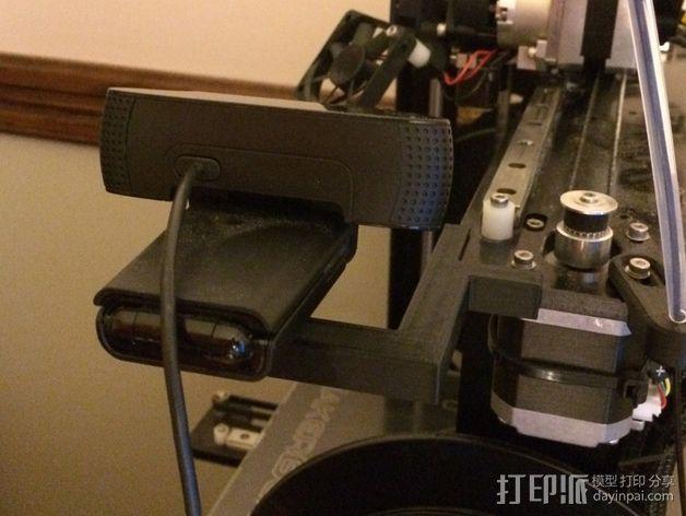 相机座  3D打印模型渲染图
