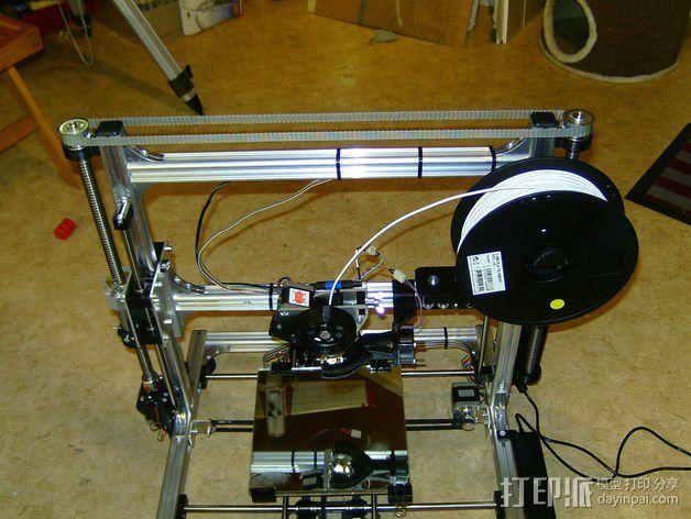 K8200 / 3Drag 打印机Y轴部件 3D打印模型渲染图