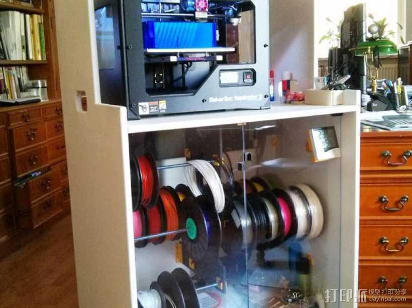线轴架 组合式导线器 3D打印模型渲染图