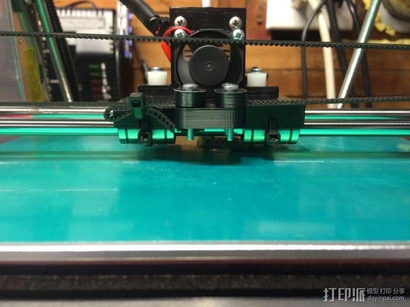Prusa i2挤出机装置 3D打印模型渲染图