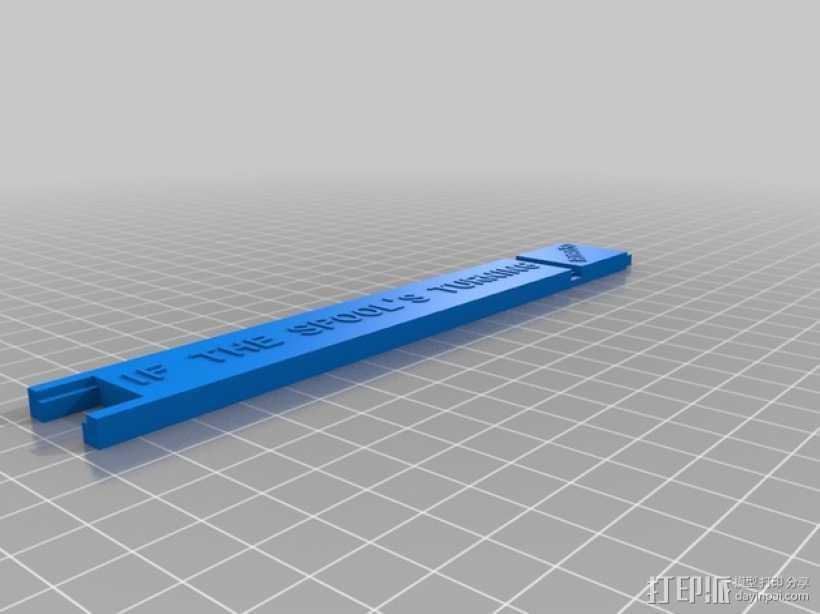 Robo3D打印机线轴架 3D打印模型渲染图