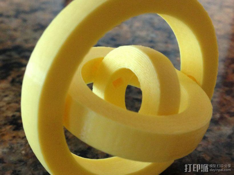 平衡环 3D打印模型渲染图