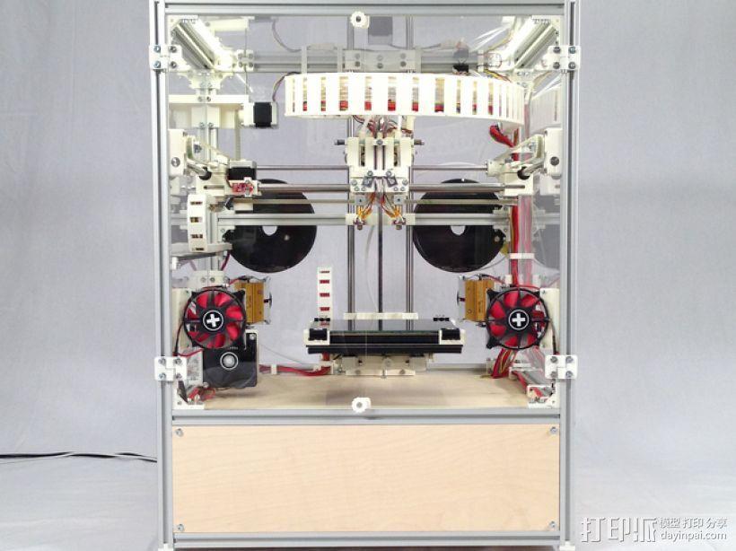 RepRap工业级3D打印机 3D打印模型渲染图