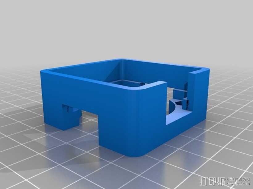 NEMA17风扇架 3D打印模型渲染图