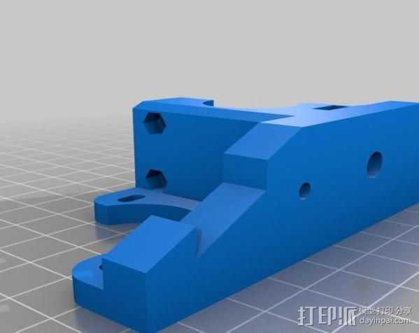 RepRapPro打印机 挤出机 3D打印模型渲染图