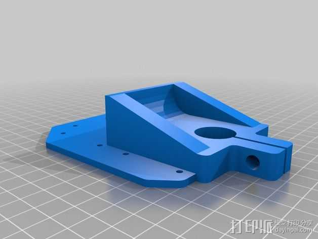 RigidBot打印机工具架 3D打印模型渲染图
