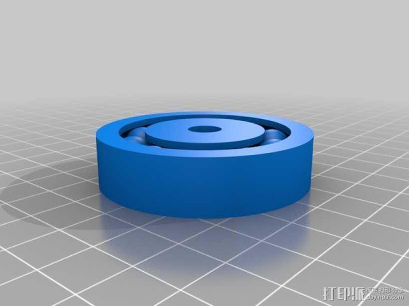 双向性硅钢片支撑架 3D打印模型渲染图