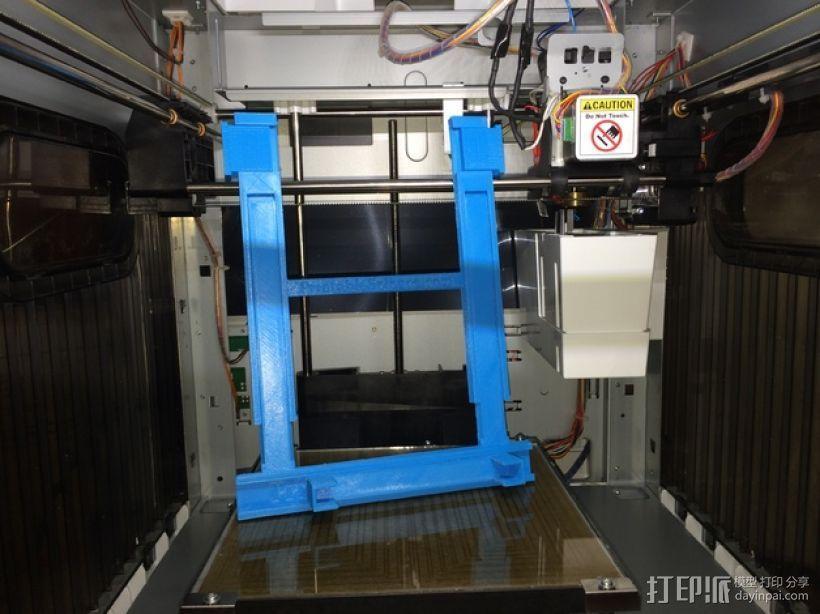 打印机手机支架 3D打印模型渲染图