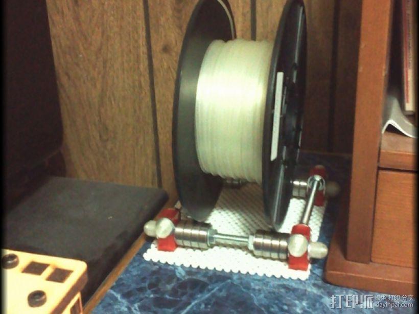 通用型线轴架 3D打印模型渲染图