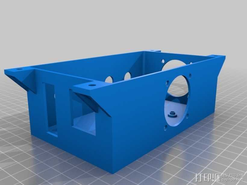Ramps 1.4打印机外壳 3D打印模型渲染图