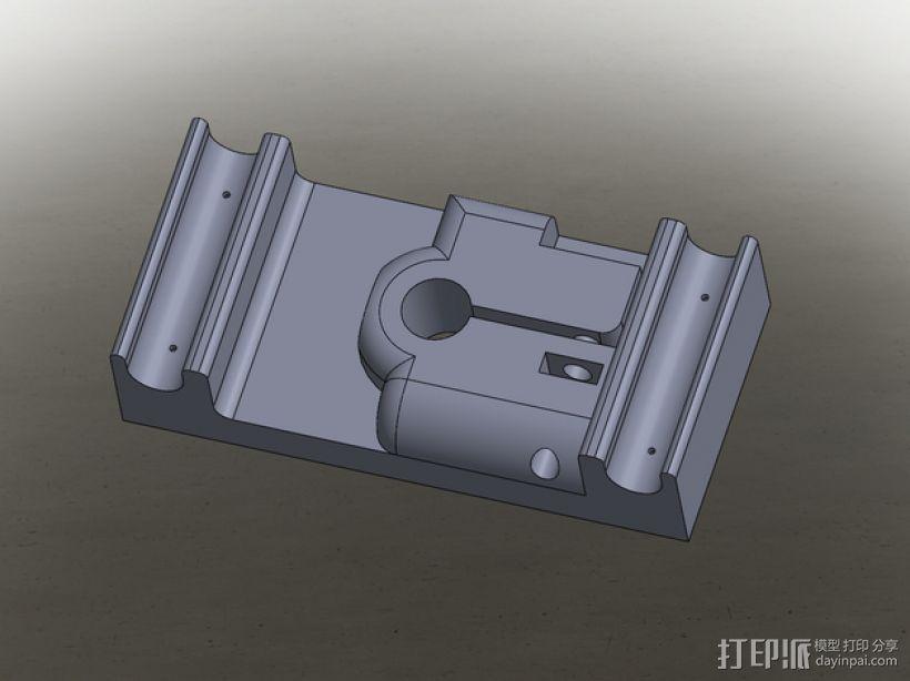 MakerBot打印机指示器固定架 3D打印模型渲染图