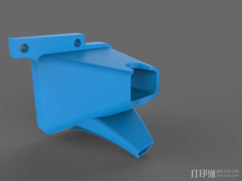 TAZ 4 冷却剂导管 3D打印模型渲染图